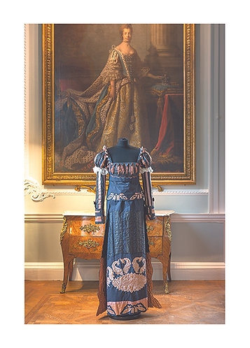 1 - Title - Mermaids (bronze) at Firle Place - The Regency Wardrobe collection