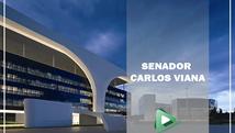 """Vídeoconferência Especial """"Gestão Pública"""" com o Senador Carlos Viana."""