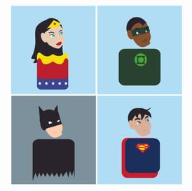 Mini Justice League