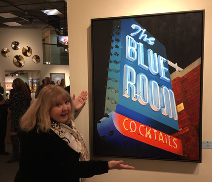 Marshall Gallery sold The Blue Room