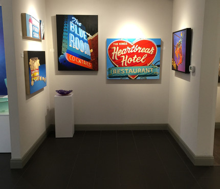 Group show J A Willy Gallery in Naples, FL