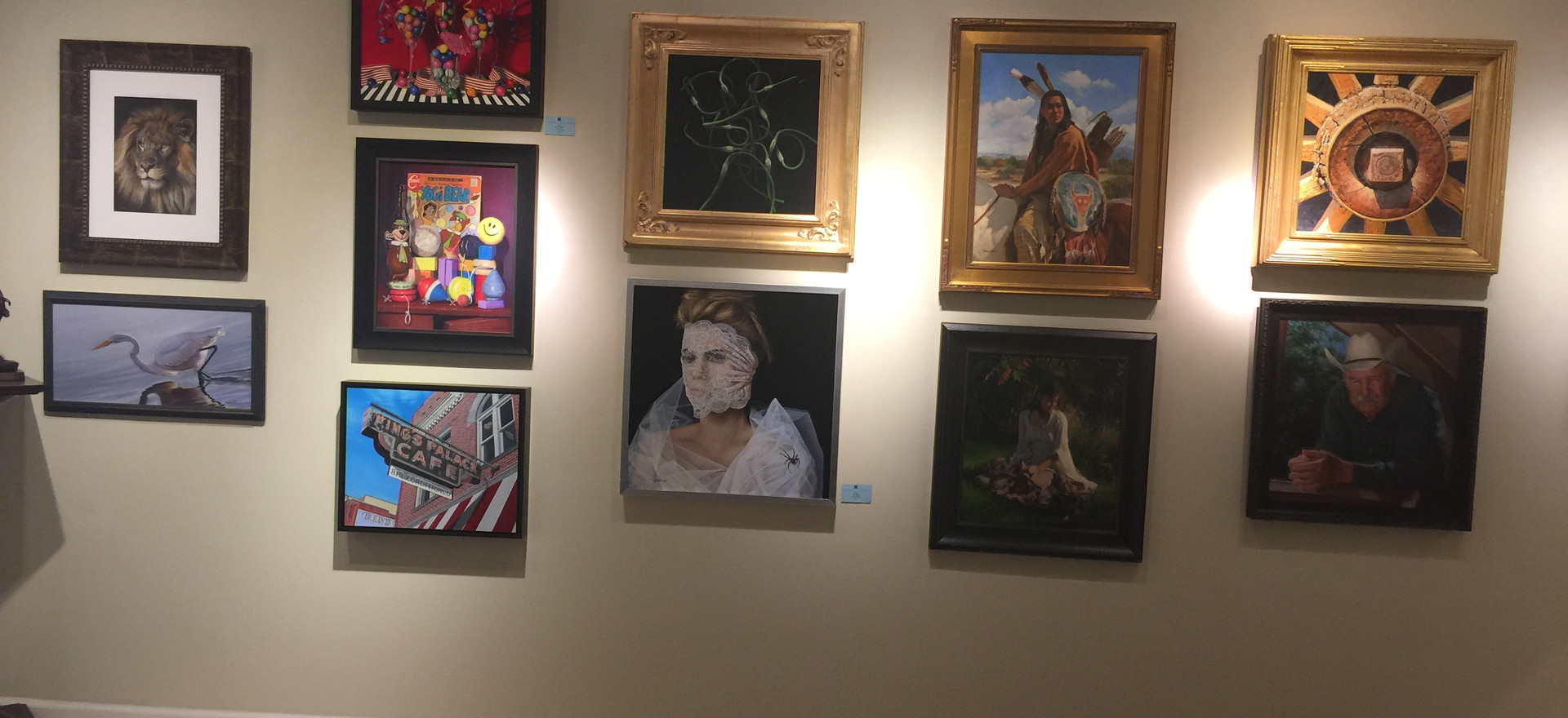 King's Palace in a group show at Marshall Gallery in Scotsdale, AZ