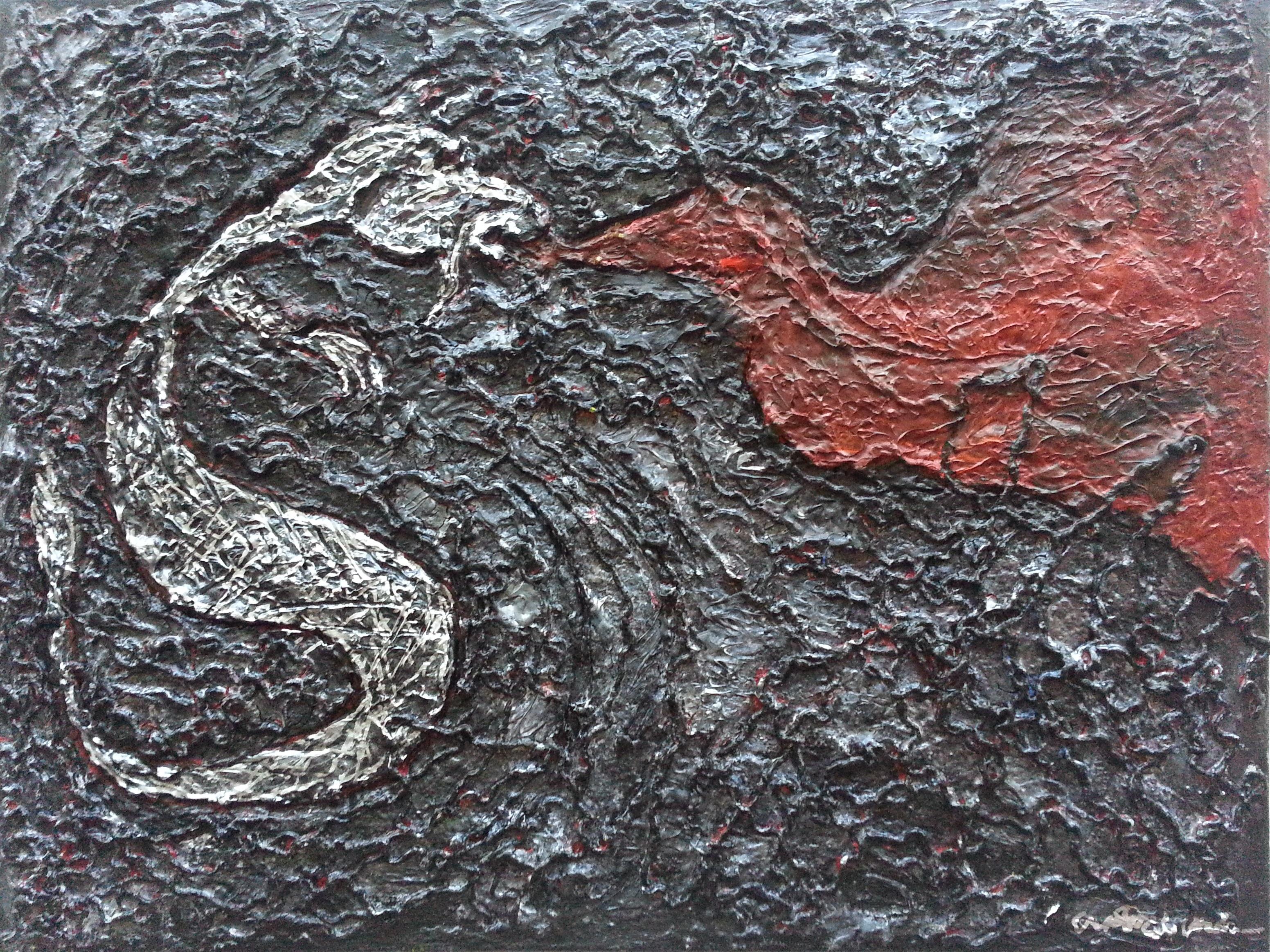 Silver Luck Dragon