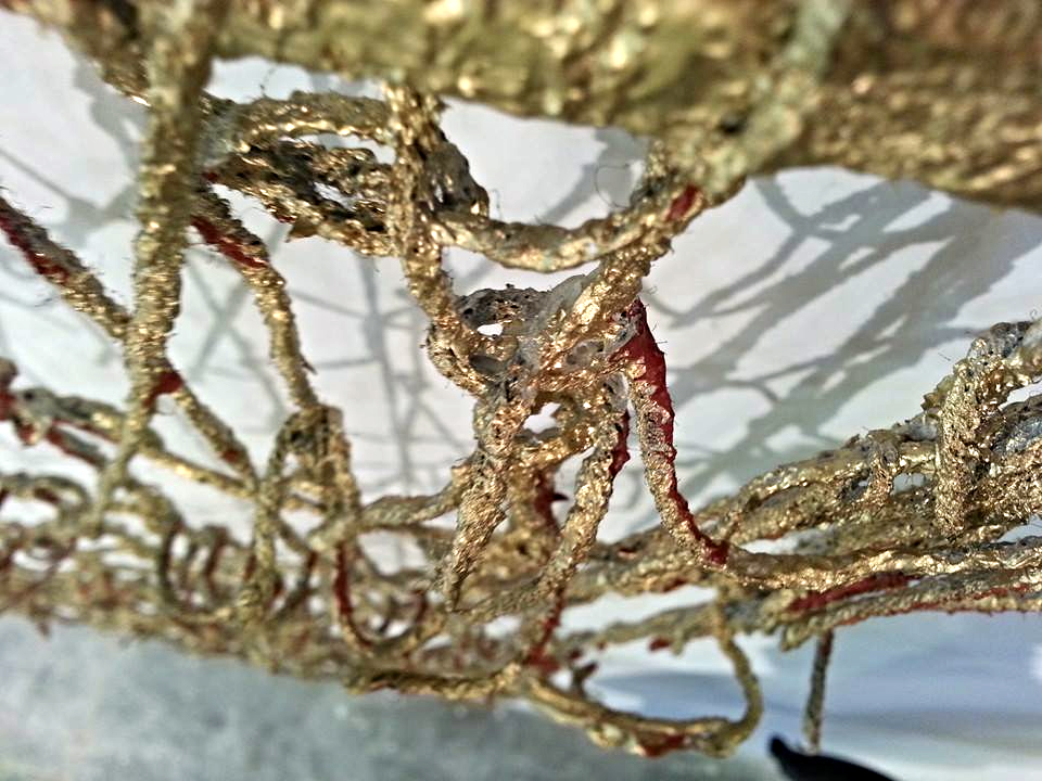 Detail Of Curved Treasure