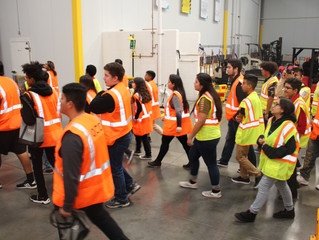 Local High School Students Get Exclusive Quality Custom Tour