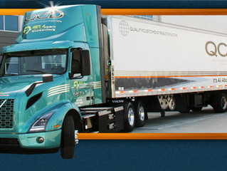 QCD Fontana Takes Delivery of First Electric Truck