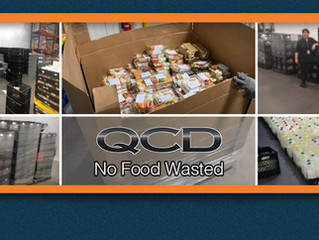 "QCD Supports ""No Food Wasted"" Customer Donations Prompted by Coronavirus Closures"