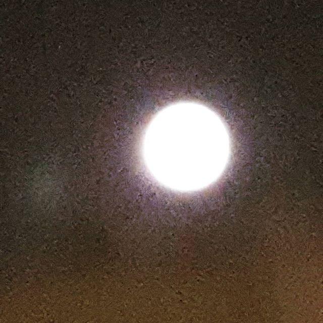 Luna llena y muy hermosa