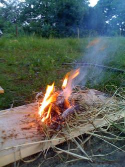 Allumer son premier feu