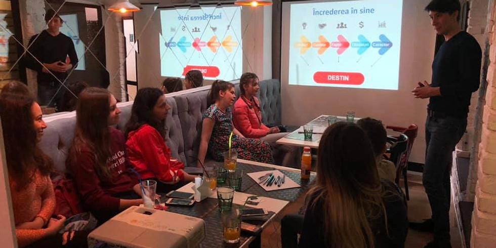 Gratuit 31.10.2019 | Workshop Dezvoltare Personală adolescenţi 12-18 ani