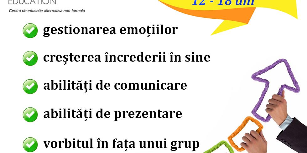 Gratuit | Workshop Dezvoltare Personală adolescenţi 12-18 ani 1 August