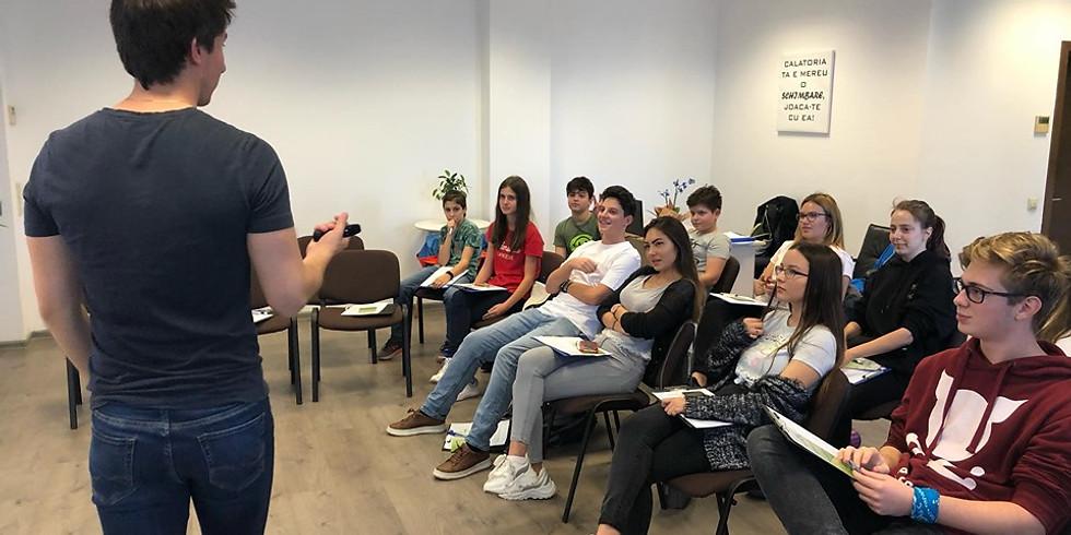 Gratuit 16.04.2020 | Workshop ONLINE Dezvoltare Personală Adolescenţi
