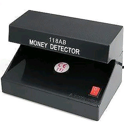 118 UVFake Money Detector