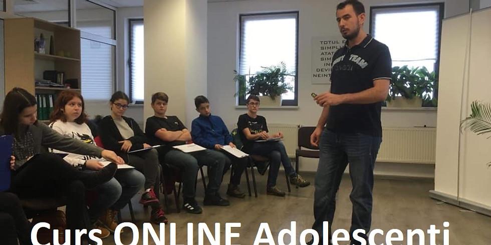 """Program ONLINE """"Ziua Dezvoltarii Personale"""" pentru Adolescenți 12-18 ani"""