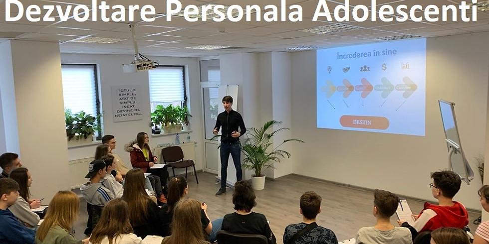 Gratuit 10.01.2021 | Workshop ONLINE Dezvoltare Personală adolescenţi 13-17 ani