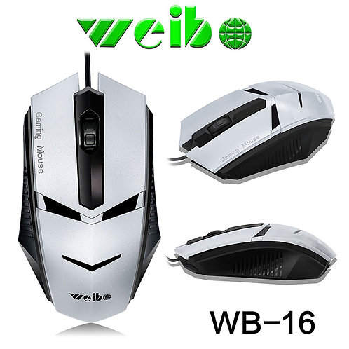 WIRED OPTICAL GAMING MOUSE WEIBO