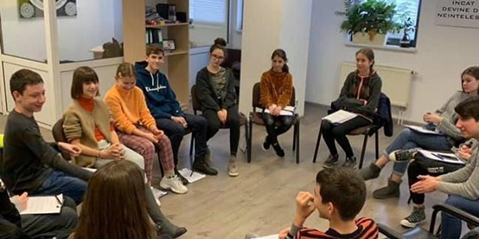 Gratuit 17.10.2020 | Workshop Dezvoltare Personală adolescenţi 13-17 ani