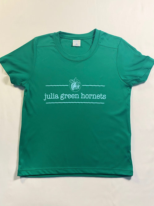 Green Performance Fabric T-Shirt