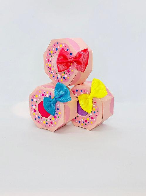 Mini doughnut pamper set