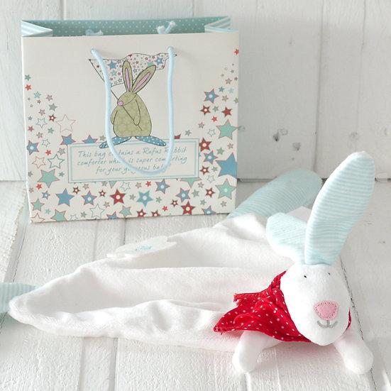 Rufus Rabbit Comforter