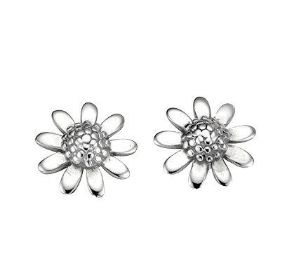 925 Sterling silver daisy stud earrings