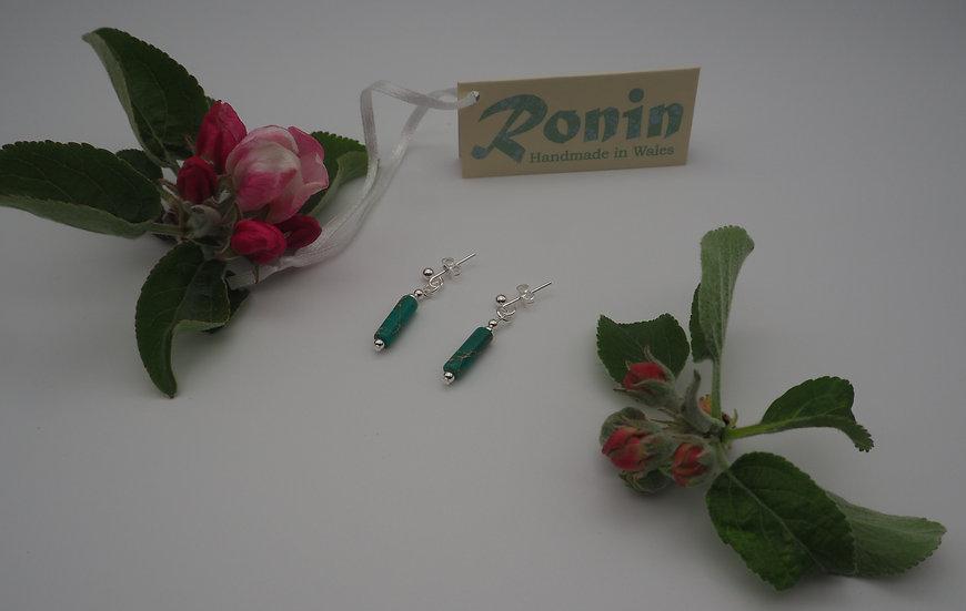 Ronin Jewellery Earrings (Marvel/green)