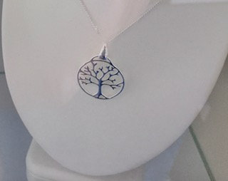 925 Sterling silver tree of life pendant