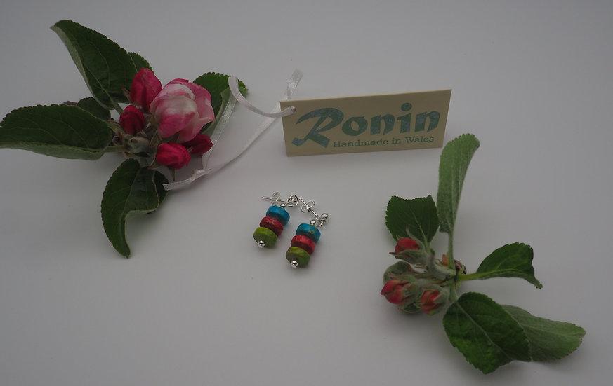 Ronin Jewellery Earrings (Marvel/pink)