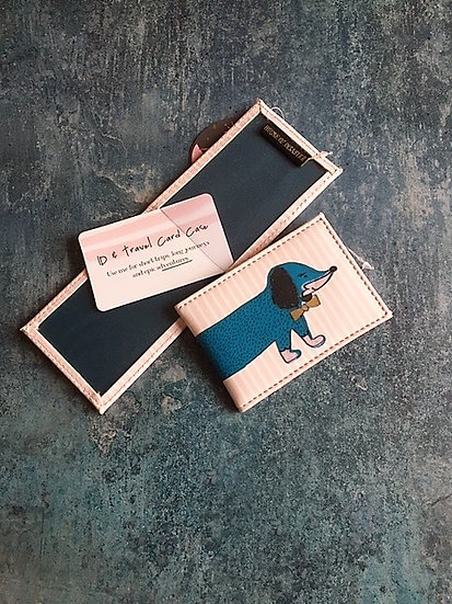 Over The Moon Dog Card Holder