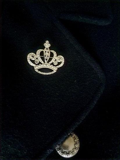 Crown Design Brooch