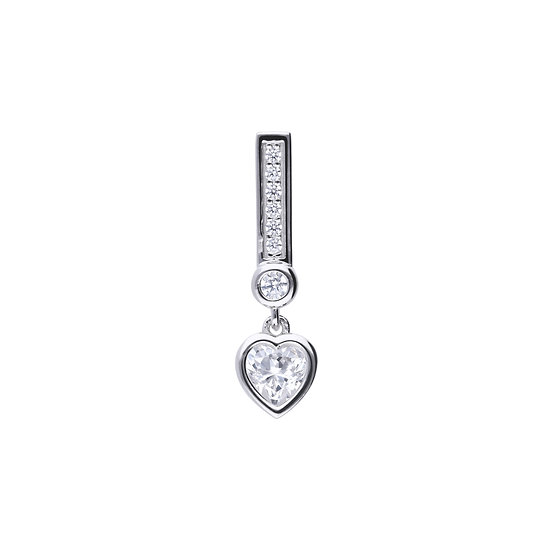 Diamonfire sterling silver necklace