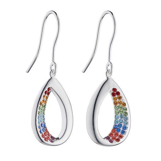 925 sterling silver teardrop earrings