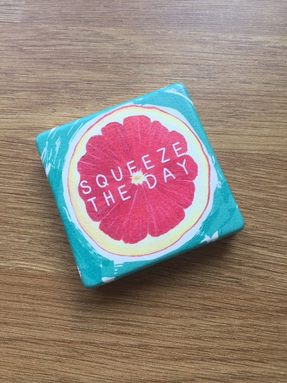 Squeeze The Day Compact Mirror