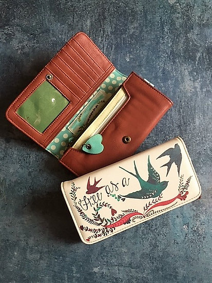 In a Nutshell Bird Wallet