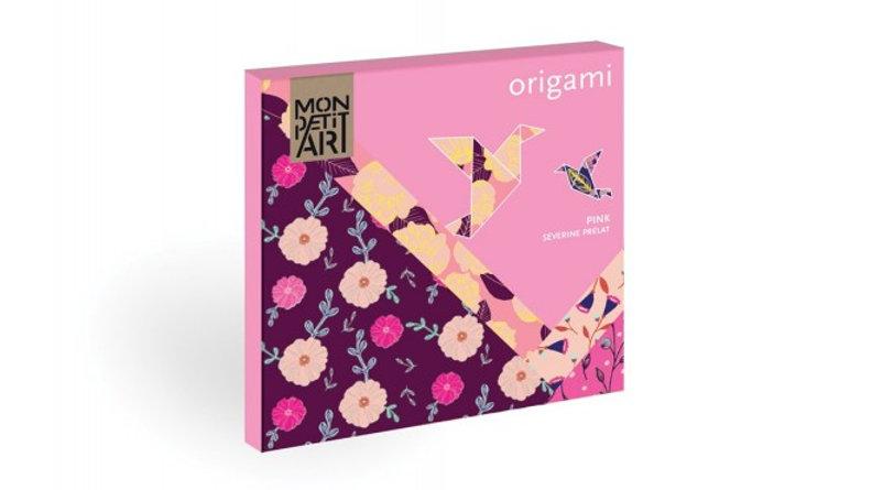 Origami Pink - Mon Petit Art