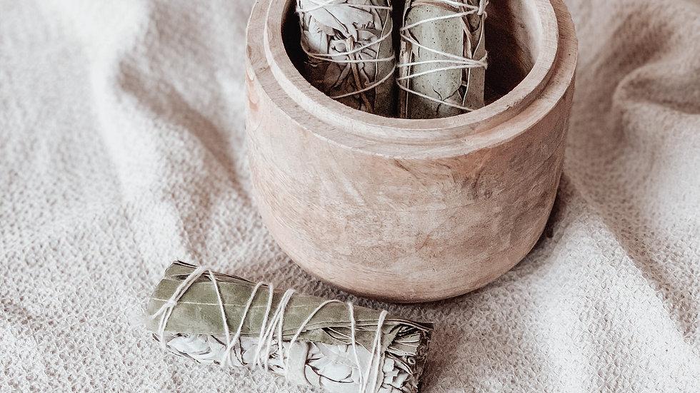 Sauge blanche & eucalyptus