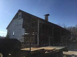 Vintage barn roof