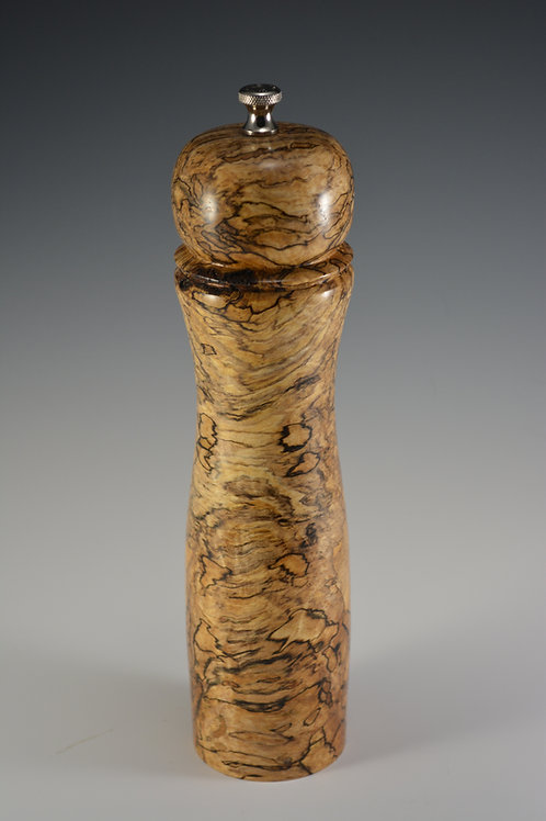 Nicely Spalted Salt, Pepper, or Spice Mill
