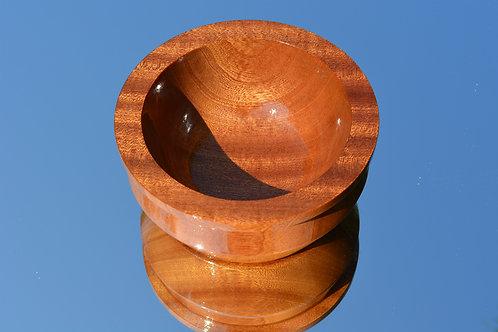 Beautiful Sapele Mahogany Bowl
