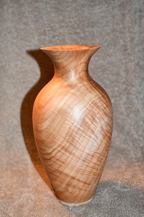 Beautiful Handmade Figured Maple Vase