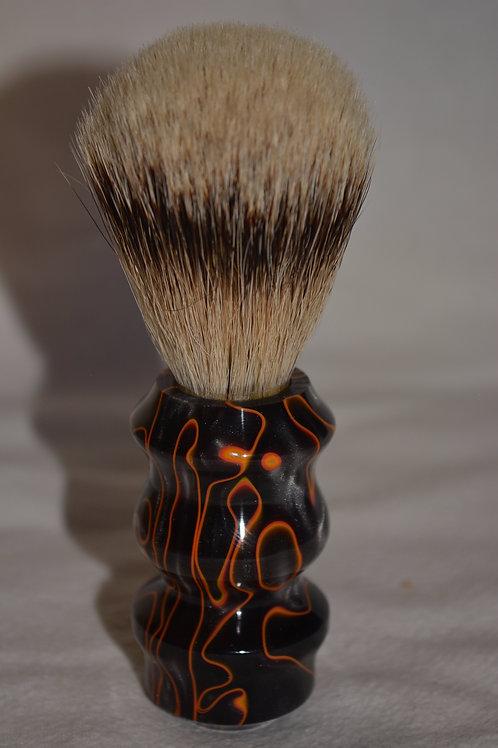 Lava Flow Shaving brush