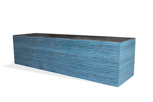 Dark Aqua Colorwood Sample