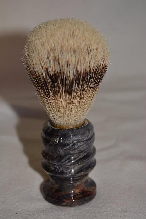Handmade Black Box Elder Badger Hair Shaving Brush