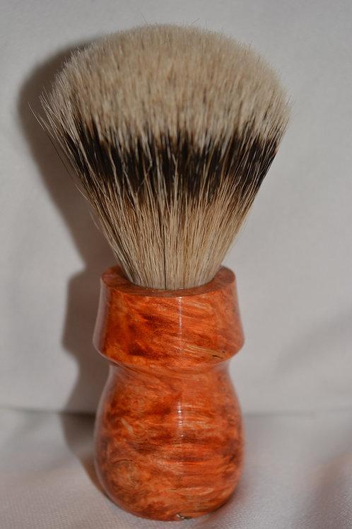 Handmade Box Elder Wood Shaving Brush