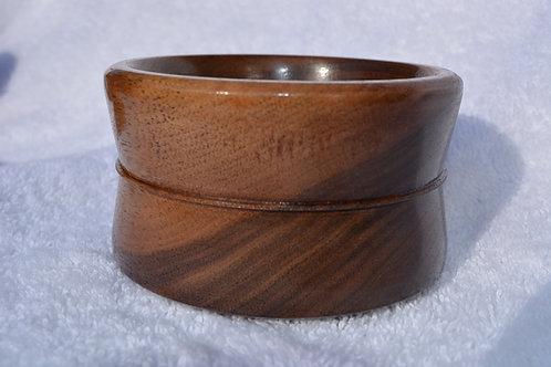 Beautiful Black Walnut Shaving Bowl