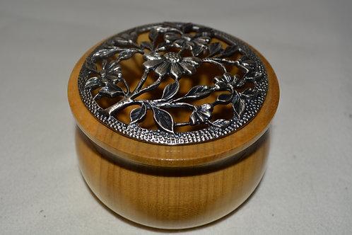 Beautiful Handmade Round Covered Bowl