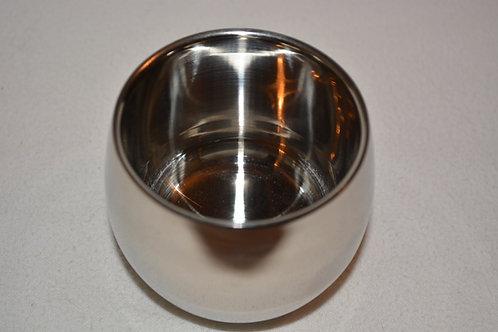Small Stainless Steel Shaving Soap Bowl