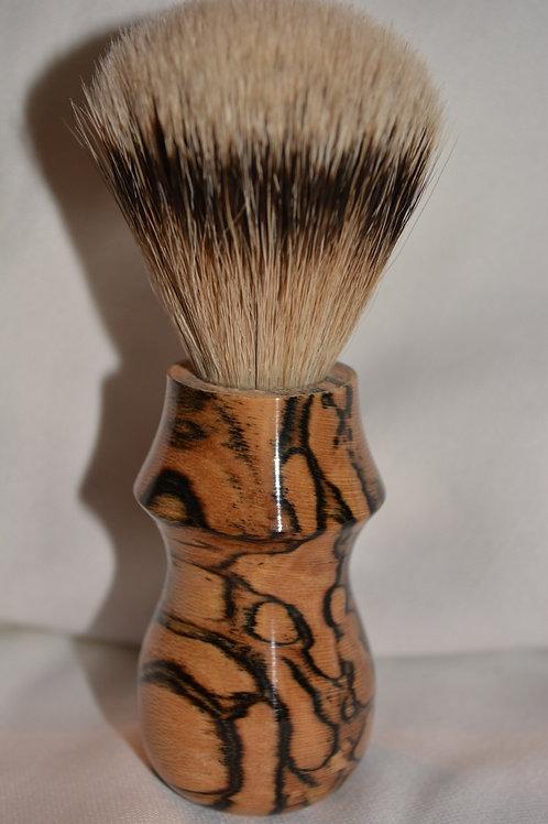 Handmade Spalted Hackberry Shaving Brush