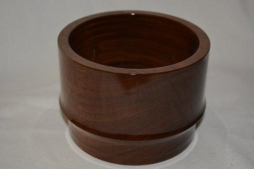 Beautiful Handmade Black Walnut Bowl