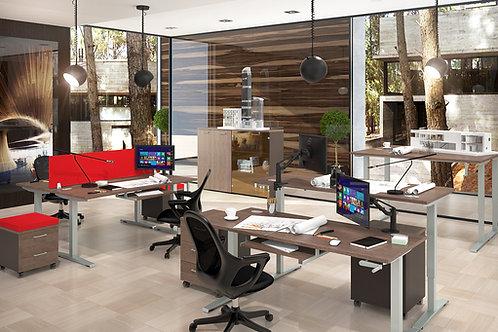 """XTEN-UP"" - стол для работы сидя и стоя (1200х700х705-1155)"